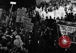 Image of banners supporting Franklin Roosevelt Philadelphia Pennsylvania USA, 1936, second 2 stock footage video 65675050258