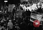 Image of banners supporting Franklin Roosevelt Philadelphia Pennsylvania USA, 1936, second 3 stock footage video 65675050258