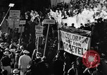 Image of banners supporting Franklin Roosevelt Philadelphia Pennsylvania USA, 1936, second 6 stock footage video 65675050258