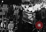 Image of banners supporting Franklin Roosevelt Philadelphia Pennsylvania USA, 1936, second 7 stock footage video 65675050258