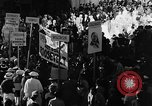 Image of banners supporting Franklin Roosevelt Philadelphia Pennsylvania USA, 1936, second 11 stock footage video 65675050258