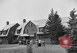 Image of picnic trip New Brunswick Canada, 1936, second 10 stock footage video 65675050261