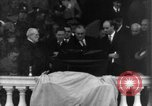 Image of Franklin Roosevelt second inaugural address Washington DC USA, 1937, second 3 stock footage video 65675050262