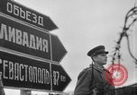 Image of street scenes Yalta Crimea Ukraine, 1945, second 8 stock footage video 65675050266