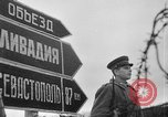 Image of street scenes Yalta Crimea Ukraine, 1945, second 9 stock footage video 65675050266