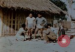Image of application of war paint Southeast Asia, 1942, second 2 stock footage video 65675050280