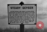 Image of Steady Geyser Wyoming United States USA, 1936, second 2 stock footage video 65675050282