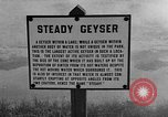 Image of Steady Geyser Wyoming United States USA, 1936, second 3 stock footage video 65675050282