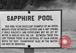 Image of Sapphire Pool Wyoming United States USA, 1936, second 2 stock footage video 65675050284