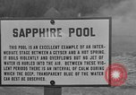 Image of Sapphire Pool Wyoming United States USA, 1936, second 4 stock footage video 65675050284