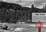 Image of Jewel Geyser Wyoming United States USA, 1936, second 1 stock footage video 65675050285