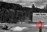 Image of Jewel Geyser Wyoming United States USA, 1936, second 2 stock footage video 65675050285