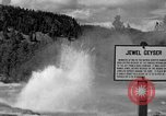 Image of Jewel Geyser Wyoming United States USA, 1936, second 4 stock footage video 65675050285