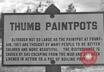 Image of Thumb Paint Pots Wyoming United States USA, 1936, second 1 stock footage video 65675050291