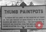 Image of Thumb Paint Pots Wyoming United States USA, 1936, second 4 stock footage video 65675050291