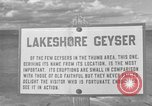 Image of Lakeshore Geyser Wyoming United States USA, 1936, second 1 stock footage video 65675050293
