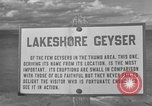 Image of Lakeshore Geyser Wyoming United States USA, 1936, second 2 stock footage video 65675050293