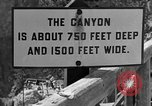 Image of Inspiration Point Wyoming United States USA, 1936, second 12 stock footage video 65675050298