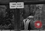Image of Tower Falls Wyoming United States USA, 1936, second 4 stock footage video 65675050300