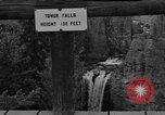 Image of Tower Falls Wyoming United States USA, 1936, second 6 stock footage video 65675050300