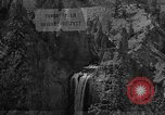Image of Tower Falls Wyoming United States USA, 1936, second 8 stock footage video 65675050300