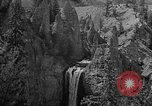 Image of Tower Falls Wyoming United States USA, 1936, second 9 stock footage video 65675050300