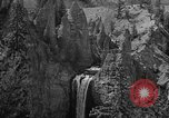 Image of Tower Falls Wyoming United States USA, 1936, second 11 stock footage video 65675050300