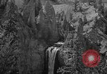Image of Tower Falls Wyoming United States USA, 1936, second 12 stock footage video 65675050300