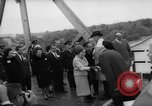Image of Johnson and Ordaz view Lake Amistad Dam construction Ciudad Acuna Mexico, 1966, second 9 stock footage video 65675050305
