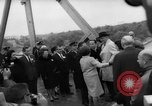 Image of Johnson and Ordaz view Lake Amistad Dam construction Ciudad Acuna Mexico, 1966, second 12 stock footage video 65675050305