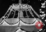 Image of Christmas Lights and decorations New York City USA, 1966, second 10 stock footage video 65675050312