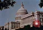 Image of Capitol building Washington DC USA, 1942, second 5 stock footage video 65675050317