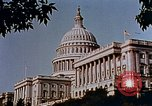 Image of Capitol building Washington DC USA, 1942, second 6 stock footage video 65675050317