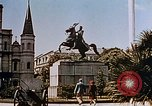 Image of French Quarter and Jackson Square New Orleans Louisiana USA, 1942, second 11 stock footage video 65675050321