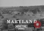 Image of American 56th Light Tank Division Maryland United States USA, 1925, second 8 stock footage video 65675050345