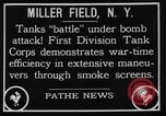 Image of American Mark I Mod 1917 tanks New York United States USA, 1922, second 2 stock footage video 65675050348