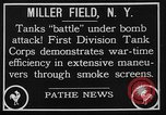 Image of American Mark I Mod 1917 tanks New York United States USA, 1922, second 3 stock footage video 65675050348