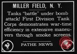 Image of American Mark I Mod 1917 tanks New York United States USA, 1922, second 6 stock footage video 65675050348