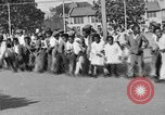 Image of Water melon eating contest Oakland California USA, 1929, second 1 stock footage video 65675050360
