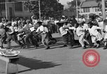 Image of Water melon eating contest Oakland California USA, 1929, second 3 stock footage video 65675050360