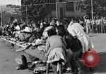 Image of Water melon eating contest Oakland California USA, 1929, second 7 stock footage video 65675050360