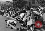 Image of Water melon eating contest Oakland California USA, 1929, second 11 stock footage video 65675050360