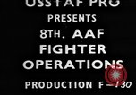 Image of American 8th Air Force Germany, 1944, second 1 stock footage video 65675050373