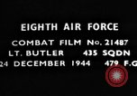 Image of American 8th Air Force Germany, 1944, second 10 stock footage video 65675050373