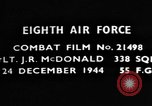 Image of Lieutenant J R McDonald Germany, 1944, second 2 stock footage video 65675050374
