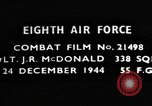 Image of Lieutenant J R McDonald Germany, 1944, second 4 stock footage video 65675050374