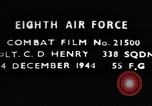 Image of Lieutenant C D Henry Germany, 1944, second 1 stock footage video 65675050375
