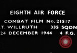 Image of American 8th Air Force Germany, 1944, second 1 stock footage video 65675050376