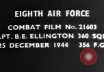Image of Captain B E Ellington Germany, 1944, second 1 stock footage video 65675050378