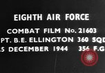 Image of Captain B E Ellington Germany, 1944, second 2 stock footage video 65675050378